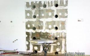 Beton bohren Wand, Beton sägen. Betonbearbeitung by BOWO