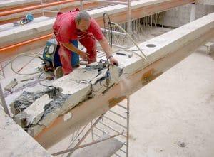 WDR. Betonbohren, Beton bohren. Betonbohrer. Moderne Betonbearbeitung by BOWO . WDR Köln.