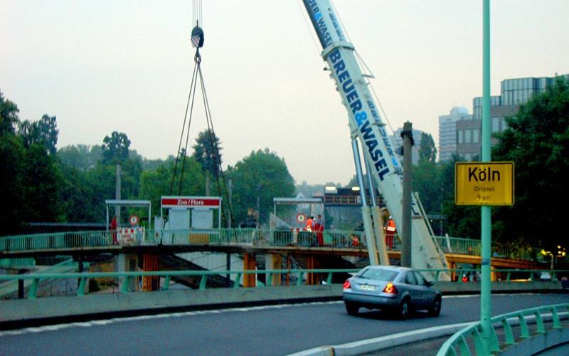 Zoobrücke Köln Aktuell