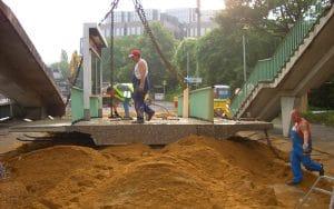 Betonbearbeitung, Betonboden, Betonwand, Betonbohren, Betonsägen, Kernbohren, Rückbau Zoobrücke