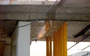 Betonbearbeitung, Betonboden, Betonwand, Betonbohren, Betonsägen, Kernbohren, Rückbau